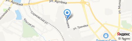 Жильё Моё на карте Донецка