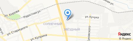 Участковый пункт милиции №7 на карте Донецка