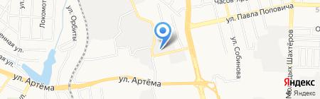 Рома на карте Донецка