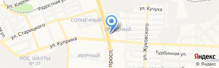 ТЕХ-СЕРВИС на карте Донецка