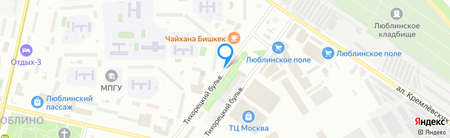 Тихорецкий бульвар