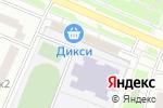 Схема проезда до компании Дверной Базар в Москве