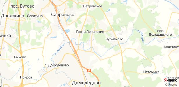 Новосъяново на карте