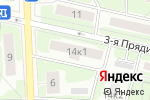 Схема проезда до компании Качалка в Москве