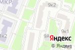 Схема проезда до компании БОНИ в Москве