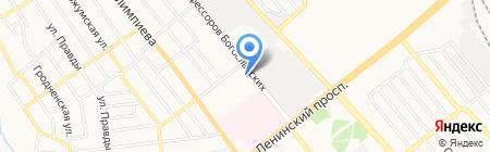 Донпромэнерго на карте Донецка