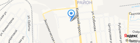 Детский сад №354 на карте Донецка