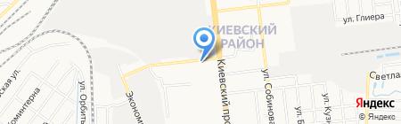 Восток-сервис на карте Донецка