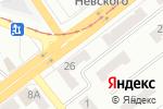 Схема проезда до компании Евросток-Невский, магазин одежды в Донецке