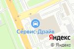 Схема проезда до компании СтройСервис в Домодедово