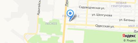 Arme на карте Донецка
