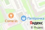 Схема проезда до компании Магазин продуктов в Домодедово