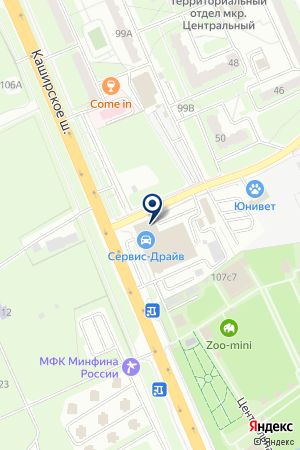 РЕКОН НАРОДНАЯ СТРАХОВАЯ КОМПАНИЯ на карте Домодедово