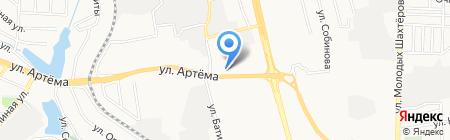Скрап копилка на карте Донецка