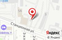 Схема проезда до компании Агроснаб в Домодедово