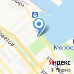 Центр фондовых операций на карте Новороссийска