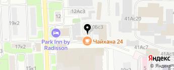 Автоконсалтинг на карте Москвы
