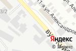 Схема проезда до компании ВСВ-ГРУПП, торговая компания в Донецке