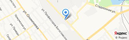 Сега-Строй на карте Донецка