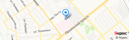 Пульс на карте Донецка
