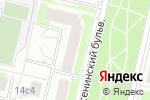 Схема проезда до компании ПромЭнергоСеть в Москве