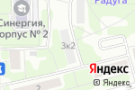 Схема проезда до компании Морелия в Москве