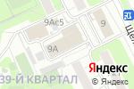 Схема проезда до компании GranatPrint в Москве
