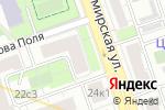 Схема проезда до компании Касса 77 в Москве
