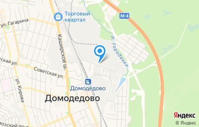 Местоположение на карте пункта техосмотра по адресу Московская обл, г Домодедово, мкр Центральный, ул Станционная, д 3