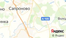 Гостиницы города Горки Ленинские на карте
