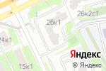 Схема проезда до компании Детинец в Москве