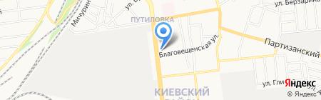 Мебельный рынок на карте Донецка
