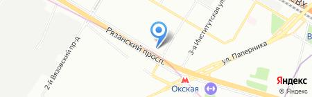 ЕВРОСОФТ на карте Москвы