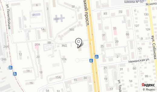 Киевский районный совет г. Донецка. Схема проезда в Донецке