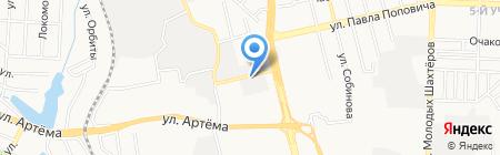 МДЛ на карте Донецка