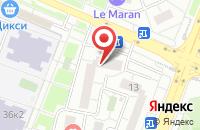 Схема проезда до компании Сабина в Москве