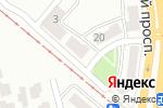 Схема проезда до компании Совет ветеранов Киевского района г. Донецка в Донецке