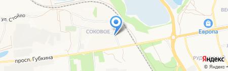 КонТРАСТ Белгород на карте Старого Оскола