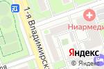 Схема проезда до компании Тропические растения в Москве