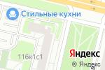 Схема проезда до компании Есенинский в Москве