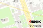 Схема проезда до компании Жилсервис-столица в Москве