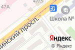 Схема проезда до компании Центральный Республиканский Банк, ОГУ в Донецке