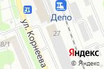 Схема проезда до компании Солнышко в Домодедово