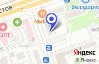 Схема проезда до компании МЕДИЦИНСКИЙ ЦЕНТР КИРАЛИНА И К в Москве