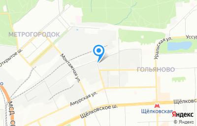 Местоположение на карте пункта техосмотра по адресу г Москва, ул Бирюсинка, д 1/18 стр 2