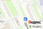 Схема проезда до компании Средняя общеобразовательная школа №2033 с углубленным изучением английского языка, с дошкольным отделением в Москве