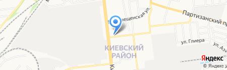 Галеника на карте Донецка
