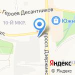 Марияж на карте Новороссийска