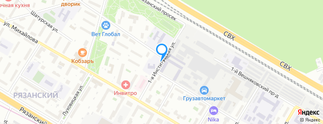 улица Институтская 1-я