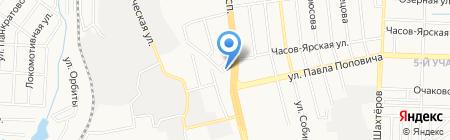 АСКО-Донбасс Северный ЧАО на карте Донецка